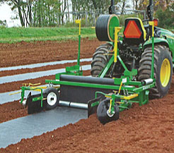 plastic mulch laying machine for sale